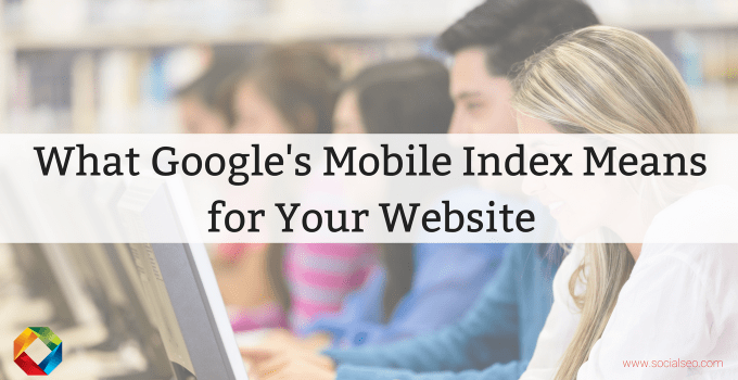 Google's Mobile Index
