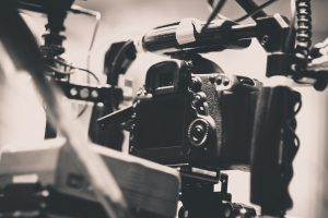 Behind the scenes of video production