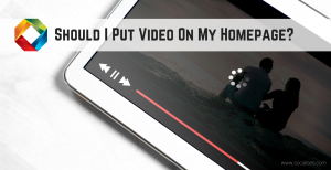 Video on Your Website's Home Page