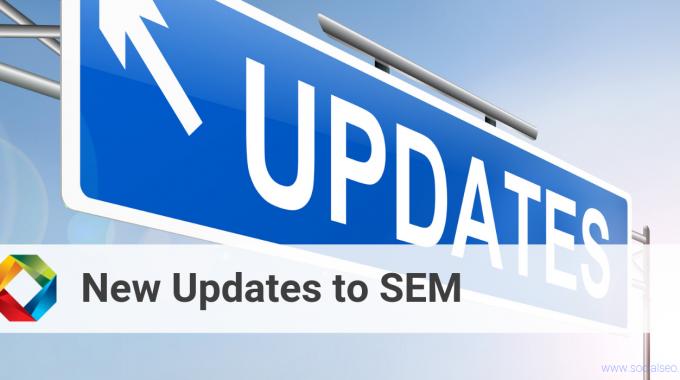 New SEM Updates